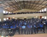 Students of Mbale S.S during the career session by UBTEB