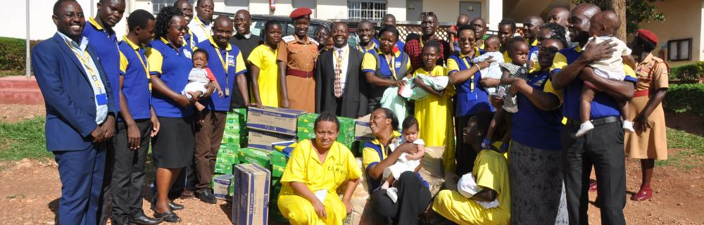 CSR event to Uganda Prisons Service-Luzira women inmates prisons.